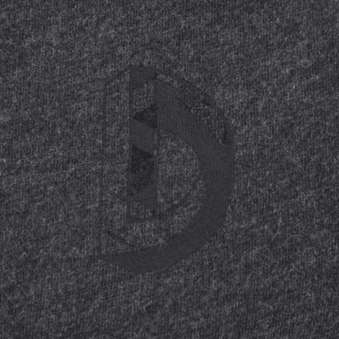 Veste 100 Gym garçon poches gris foncé - 1204507