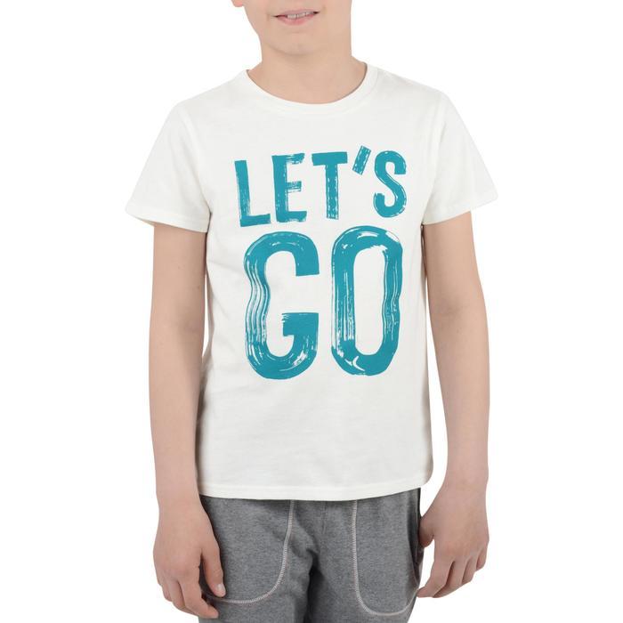 T-Shirt manches courtes 100 Gym garçon imprimé - 1204511