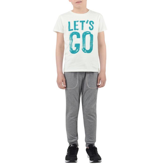 T-Shirt manches courtes 100 Gym garçon imprimé - 1204537