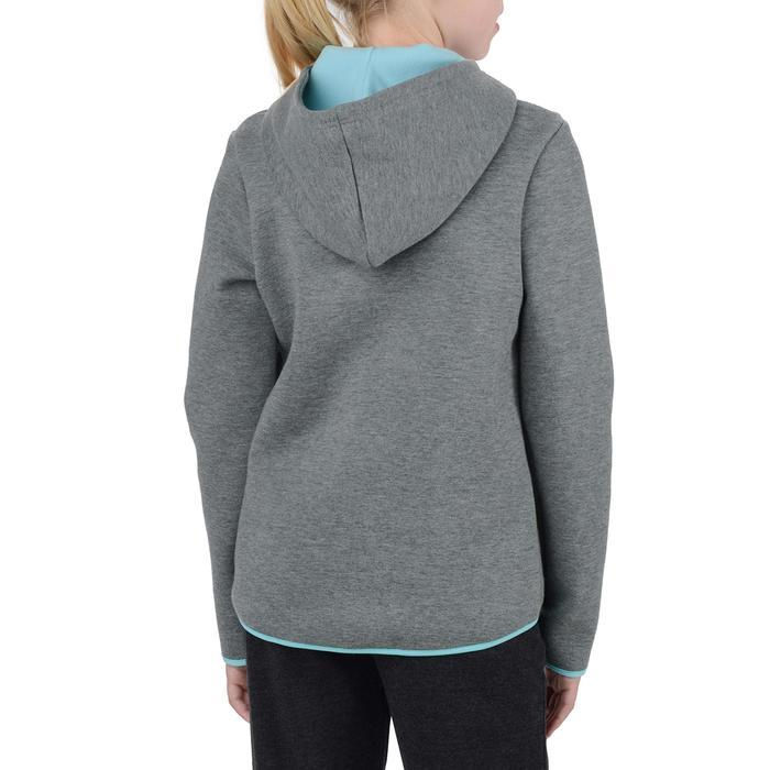 Veste chaude zippée capuche imprimé Gym fille - 1204540
