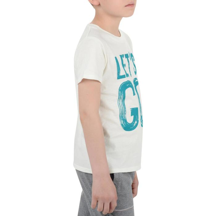 T-Shirt manches courtes 100 Gym garçon imprimé - 1204546
