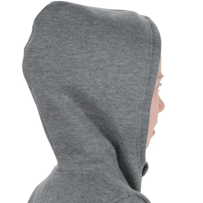 Veste chaude zippée capuche imprimé Gym fille - 1204574
