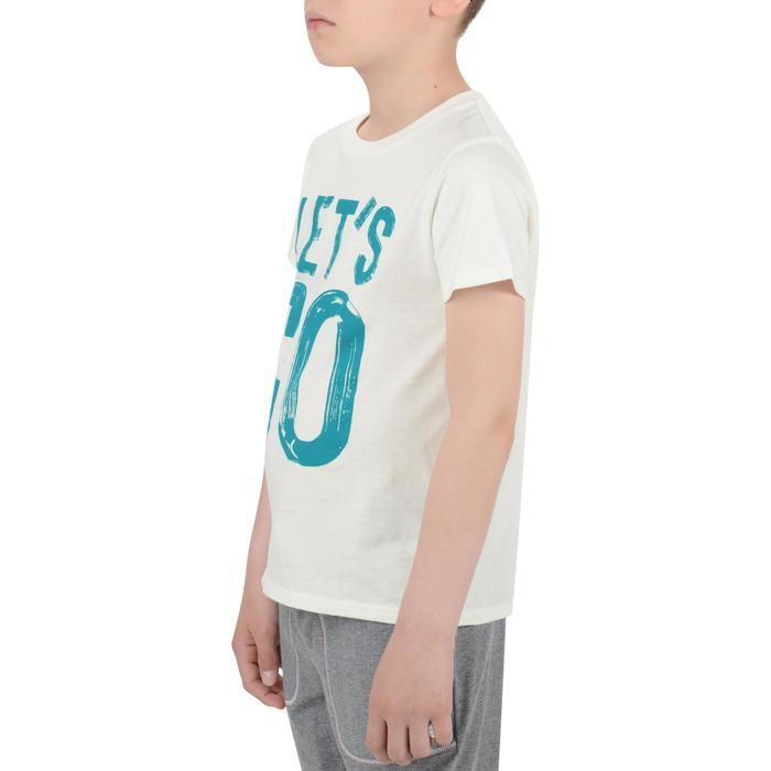 T-Shirt manches courtes 100 Gym garçon imprimé - 1204585