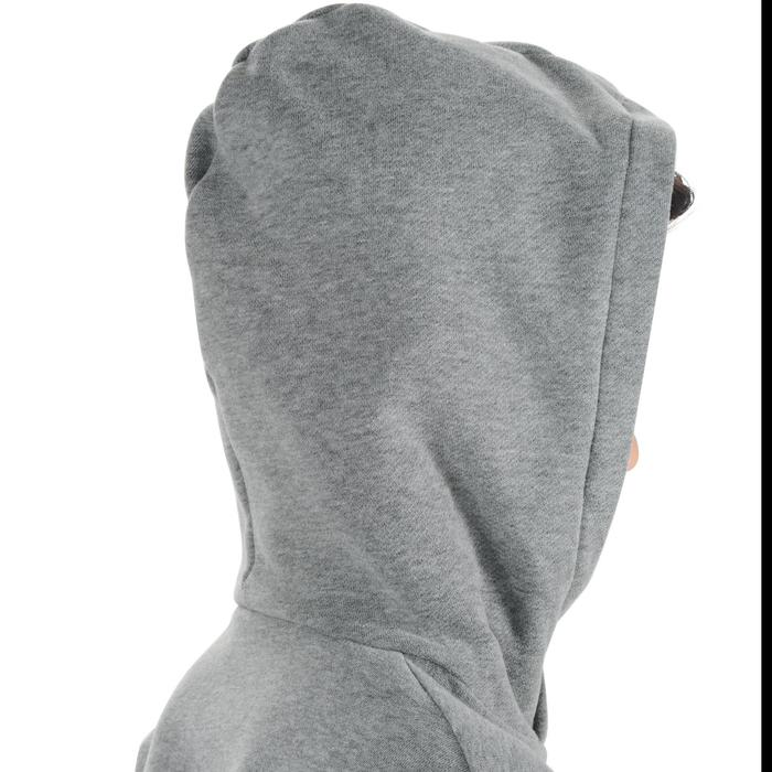 Sweat 500 Gym garçon capuche imprimé - 1204618