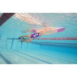 Korte zwemvliezen voor zwemsport Silifins 500 zwart