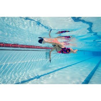 Maillot de bain natation une pièce ultra résistant au chlore femme Jade - 1204667