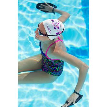 Maillot de bain de natation une pièce fille résistant au chlore Kamiye jely - 1204668