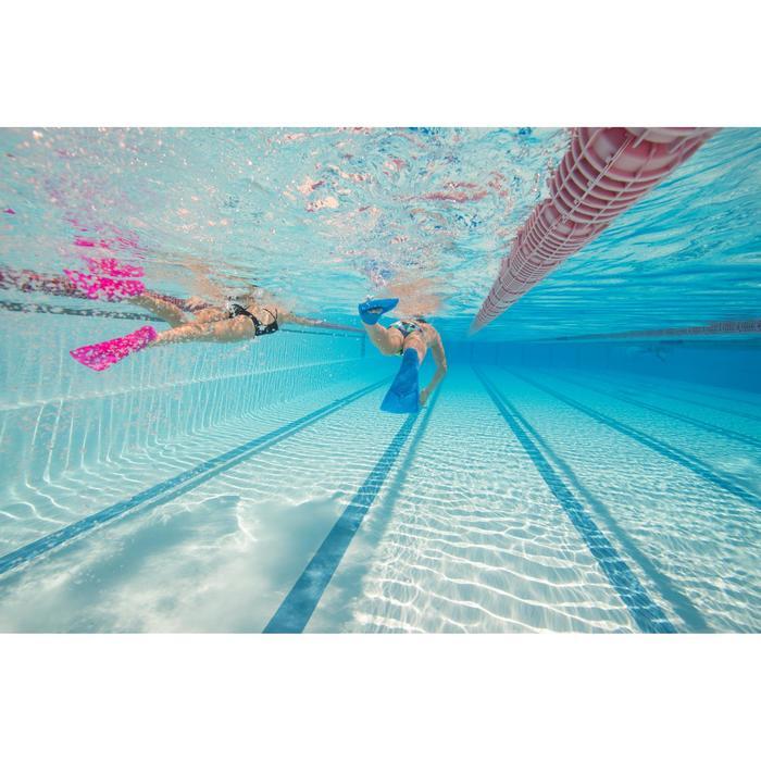 Maillot de bain de natation une pièce femme résistant au chlore Jade noir