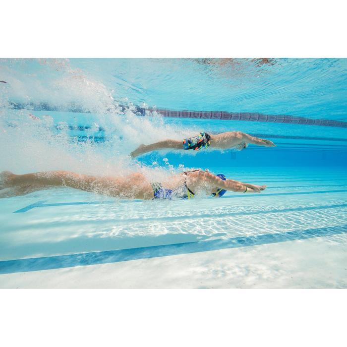 Maillot de bain de natation une pièce femme résistant au chlore Lidia bleu navy - 1204684