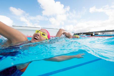XBASE 100 Easy Swimming Goggles Yellow