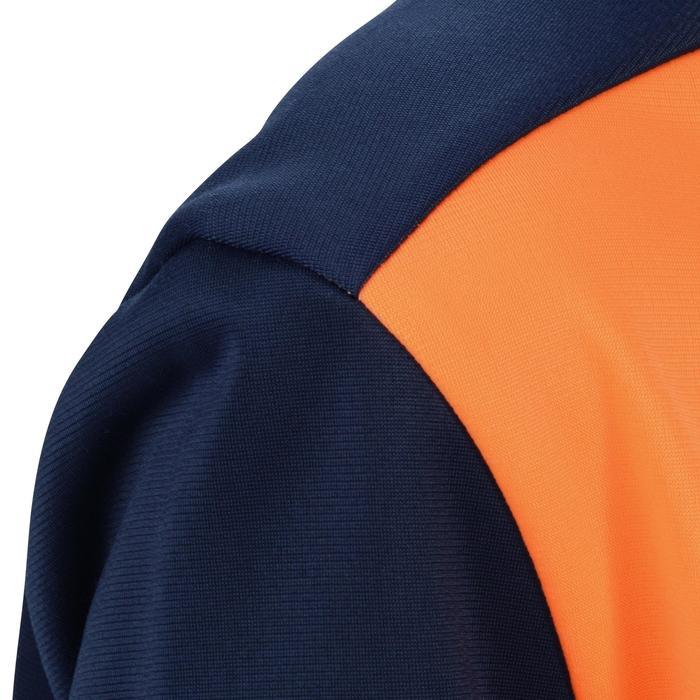 Survêtement chaud zippé Gym Energy garçon orange bleu Gym'y