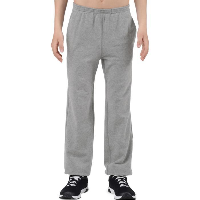 Pantalon 120 chaud regular Gym garçon poches - 1204773
