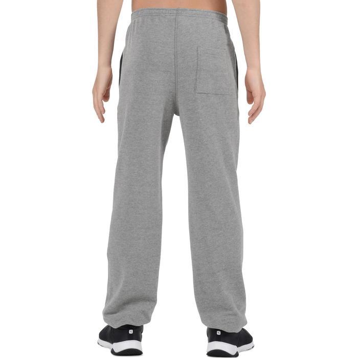 Pantalon 120 chaud regular Gym garçon poches - 1204775