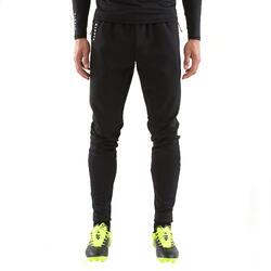 Pantalón de fútbol adulto T500 negro
