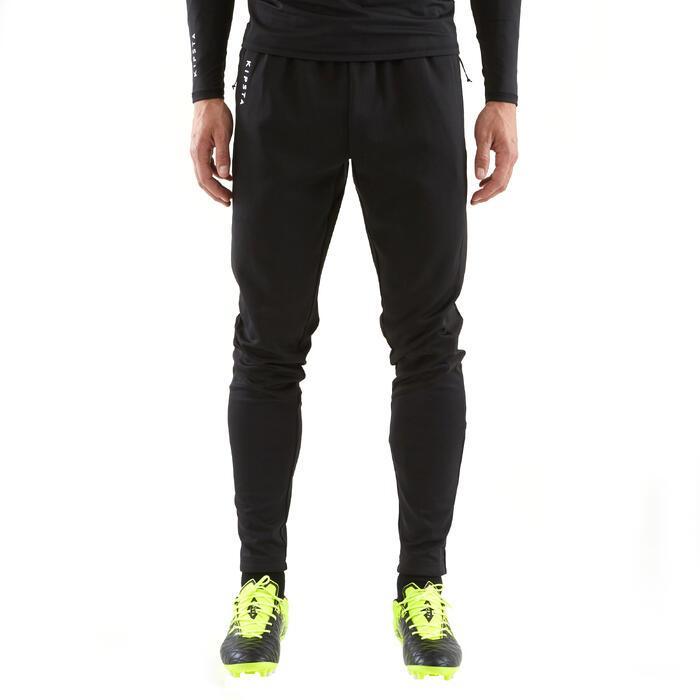 Trainingshose T500 Erwachsene schwarz