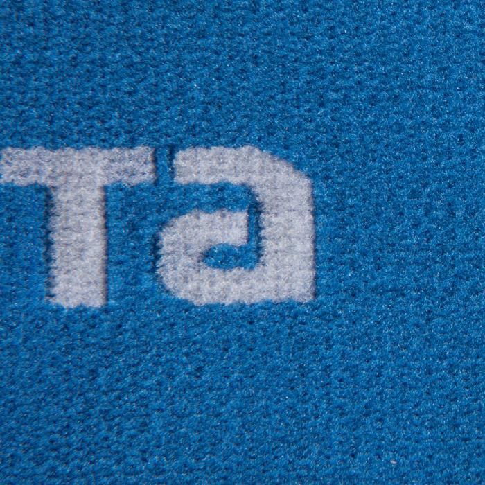 Vendas de sujeción reversibles para espinillera de fútbol Fix it blanco azul