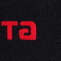 Bandes de maintien réversibles pour protège-tibias de soccer Fix it noir rouge