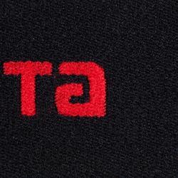 Halteband für Schienbeinschoner Fix-It wendbar schwarz/rot