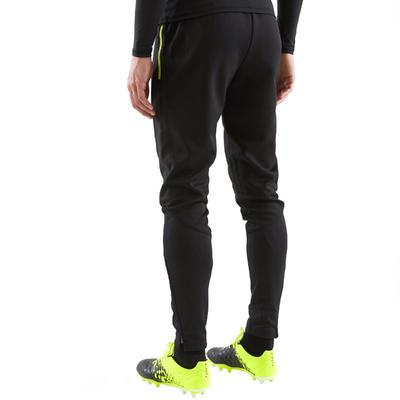 T500 מכנסיים לכדורגל למבוגרים - שחור