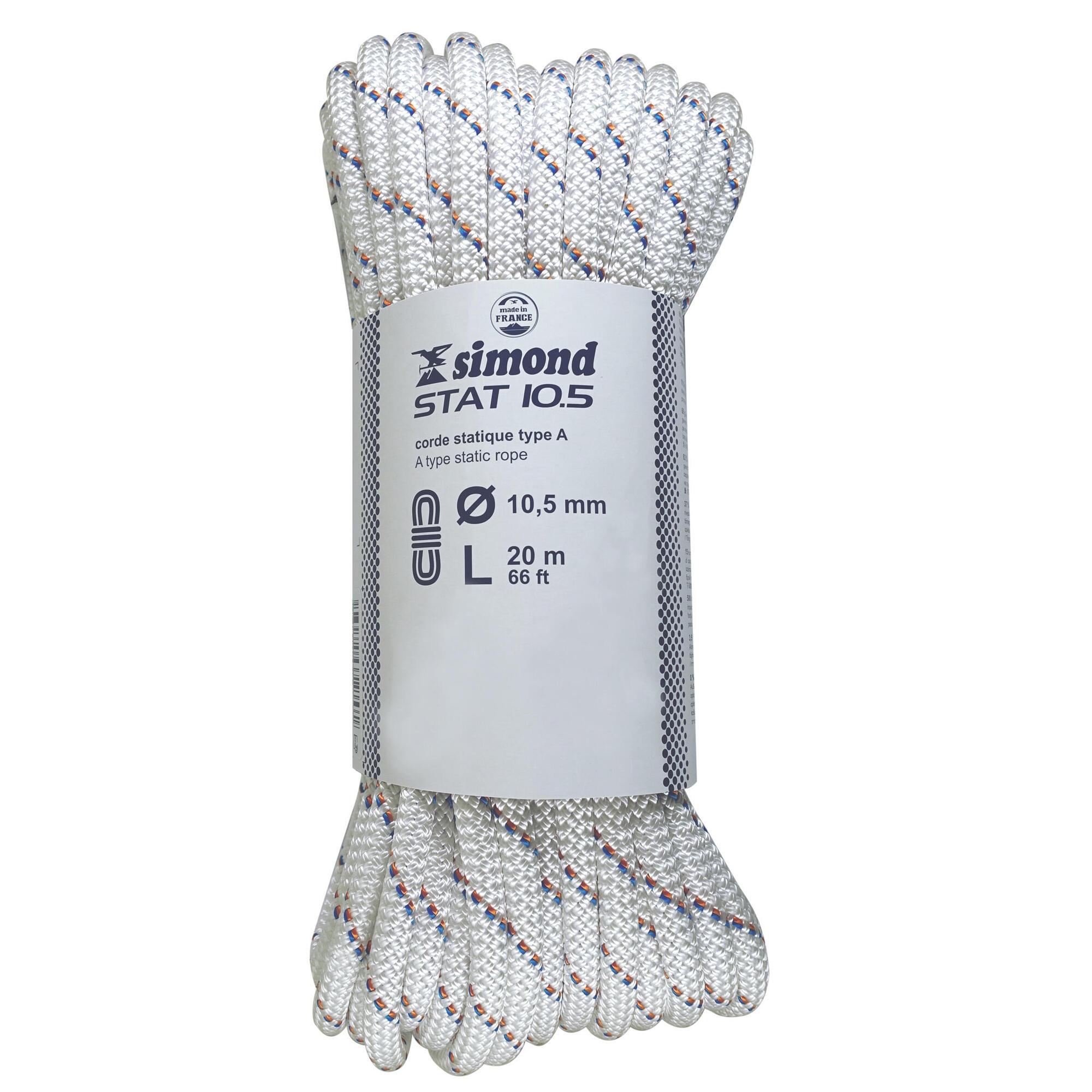 Semi Static Rope 10.5 mm x 20 m
