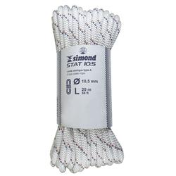Corde Semi-Statique 10,5 mm x 20 m - STAT 10,5 Blanche