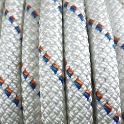 Semi-Static Rope 10.5 mm x 20 m - Stat 10.5 White