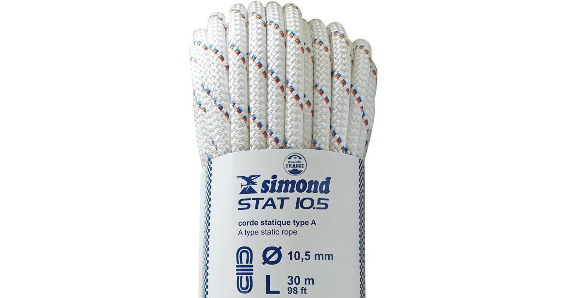 semi-static rope Simond