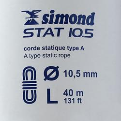 Corde Semi-Statique STAT 10,5 mm x 40 m