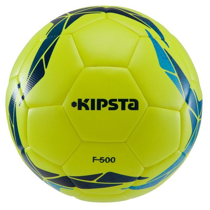 Ballon de football F500 Hybride taille 5 - 1205284