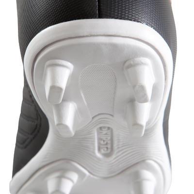 Дитячі бутси First FG для футболу, для сухого покриття - Чорні/Білі