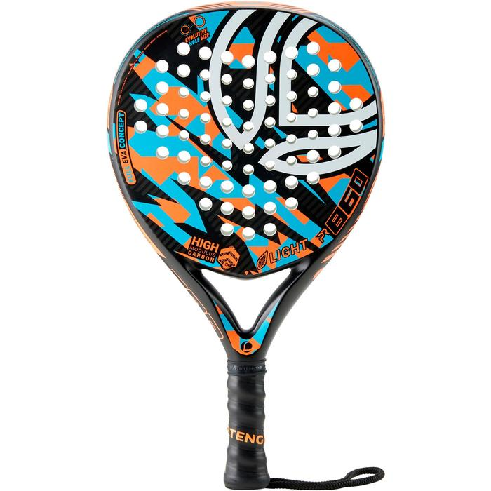 Raquette de Padel PR860 Light Orange / Bleu