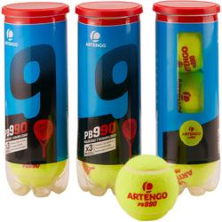 Balles de padel PB990 Jaune
