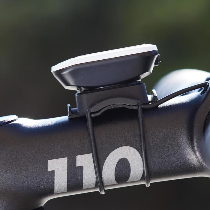 Fahrradcomputer 100 mit Kabel schwarz