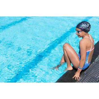 Maillot de bain de natation une pièce fille résistant au chlore Jade - 1205502
