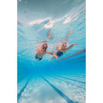 Maillot de bain de natation une pièce fille résistant au chlore Lidia - 1205511