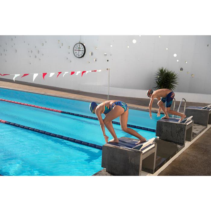 Maillot de bain de natation une pièce fille résistant au chlore Lidia - 1205516