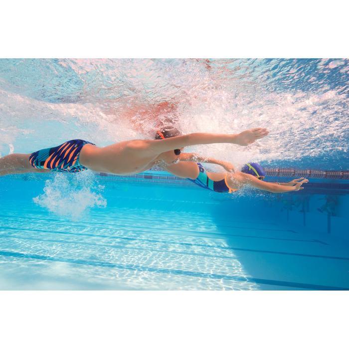 Maillot de bain de natation une pièce fille résistant au chlore Lidia - 1205518