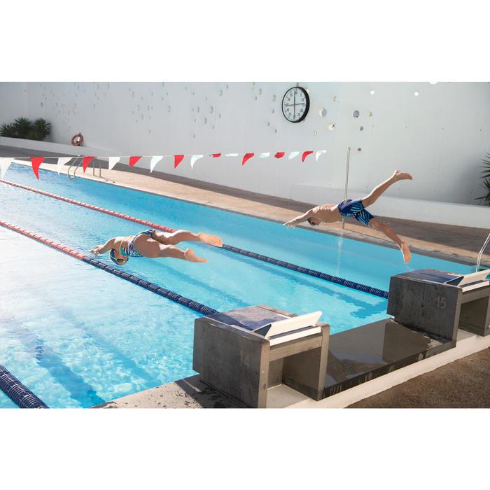 Maillot de bain de natation une pièce fille résistant au chlore Lidia