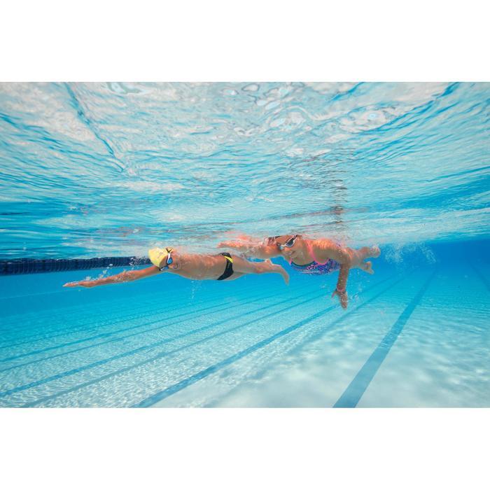 Maillot de bain de natation une pièce fille résistant au chlore Jade - 1205531