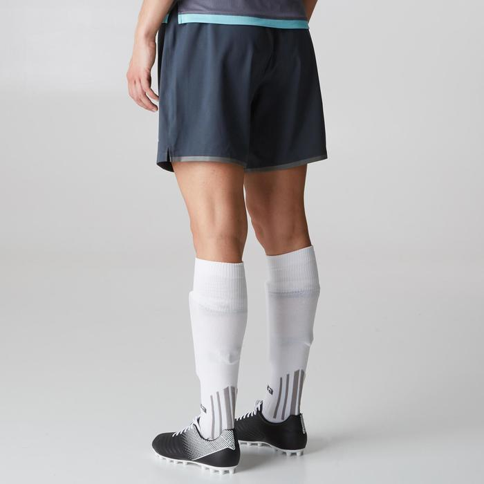 Short de football femme F500 gris menthe - 1205568