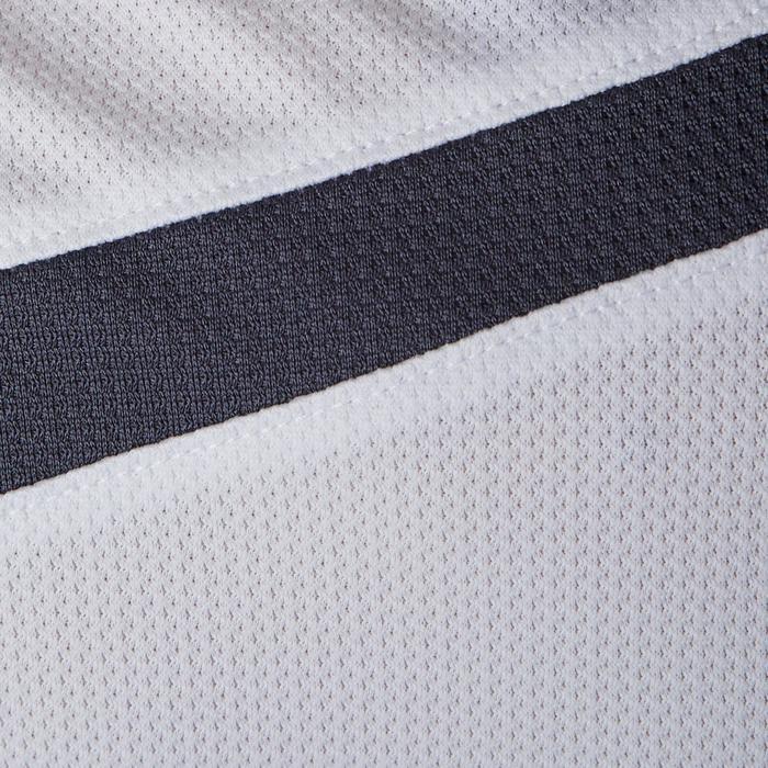 Voetbalshirt voor dames F500 wit/muntgroen