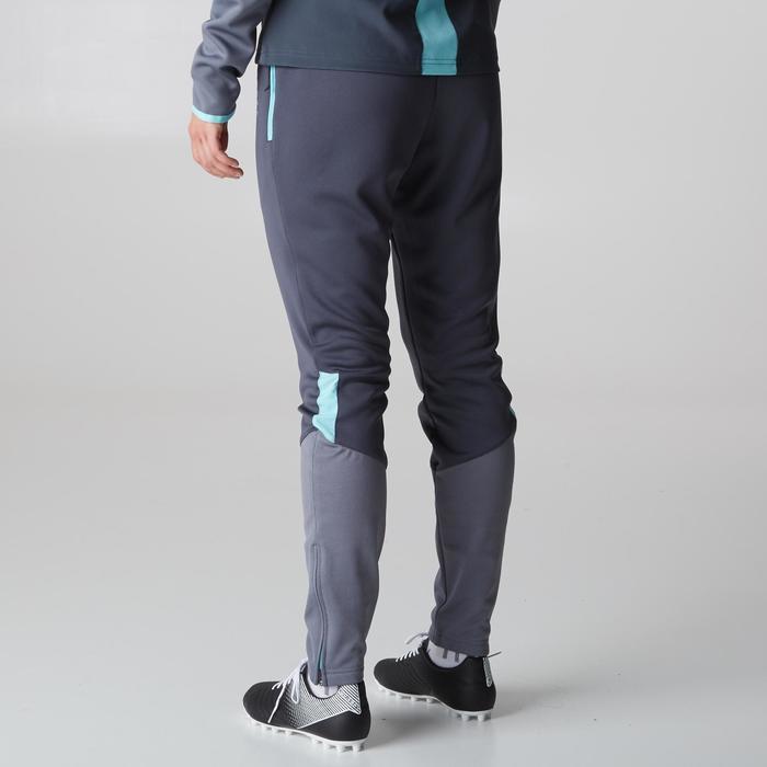 Pantalon d'entraînement de football femme TP500 gris menthe - 1205611