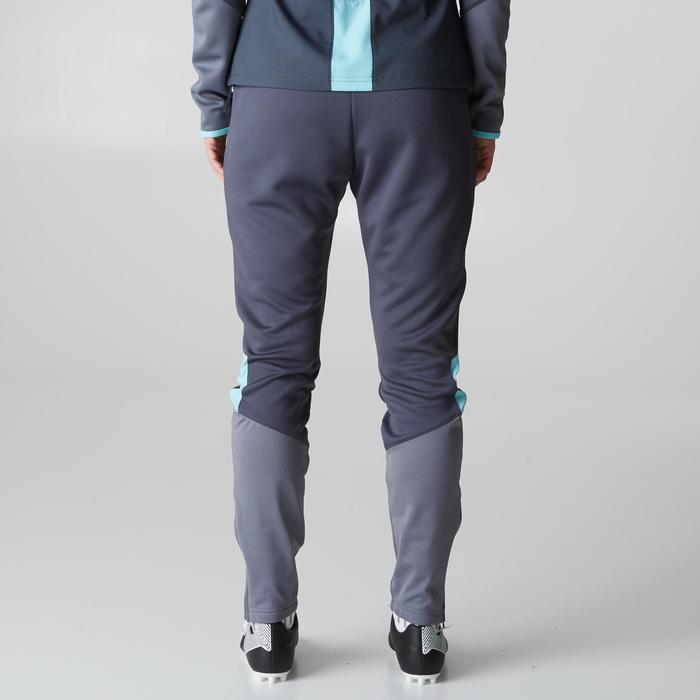 Pantalon d'entraînement de football femme TP500 gris menthe - 1205613