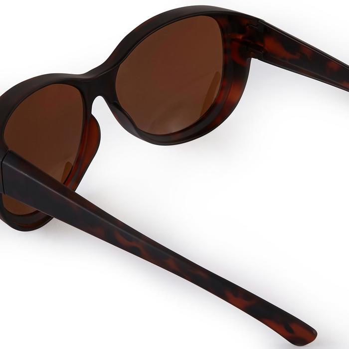 Sur-lunettes COVER 500 W marron verres polarisants catégorie 3 - 1205668