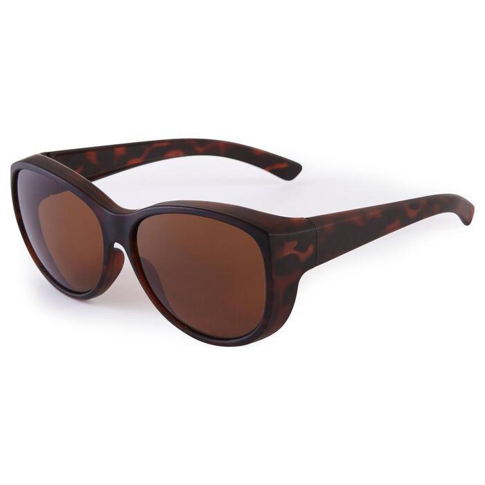 Sur-lunettes COVER 500 W marron verres polarisants catégorie 3 - 1205669