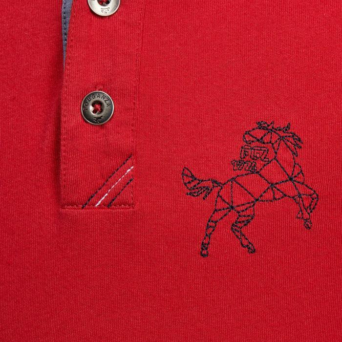 Polo manches longues équitation garçon HORSE - 1205692