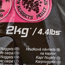 Lokvoer voor statisch bodemvissen Gooster karper nuggets 2 kg