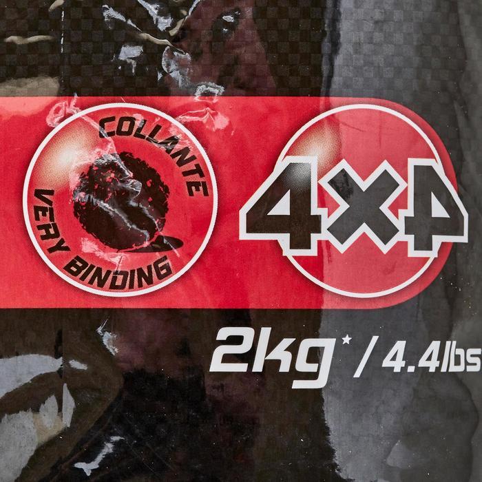 Lokaasvissen met vaste hengel Gooster 4x4 2 kg