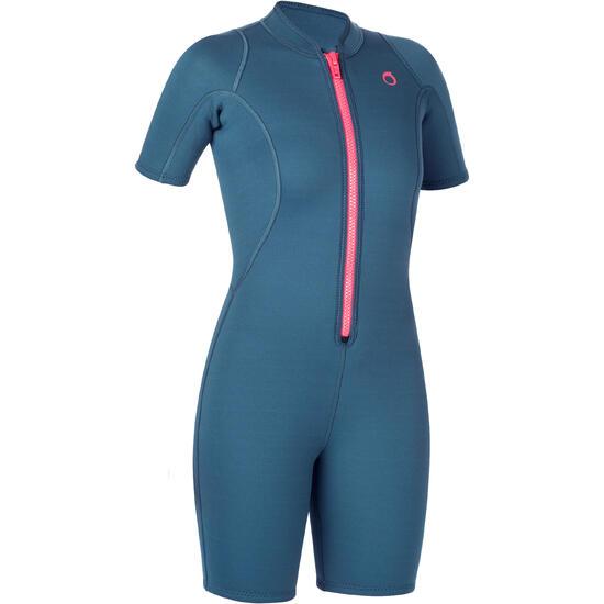 Dames shorty 100 voor snorkelen - 1205836