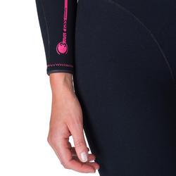 Fullsuit voor dames SCD 100 3 mm met rugsluiting. - 1205846
